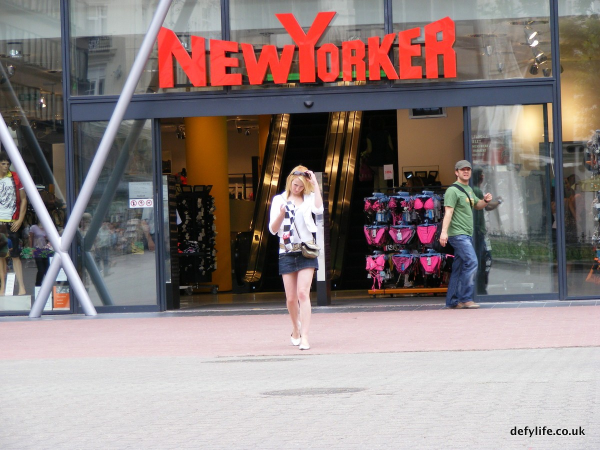Shopping in budapest