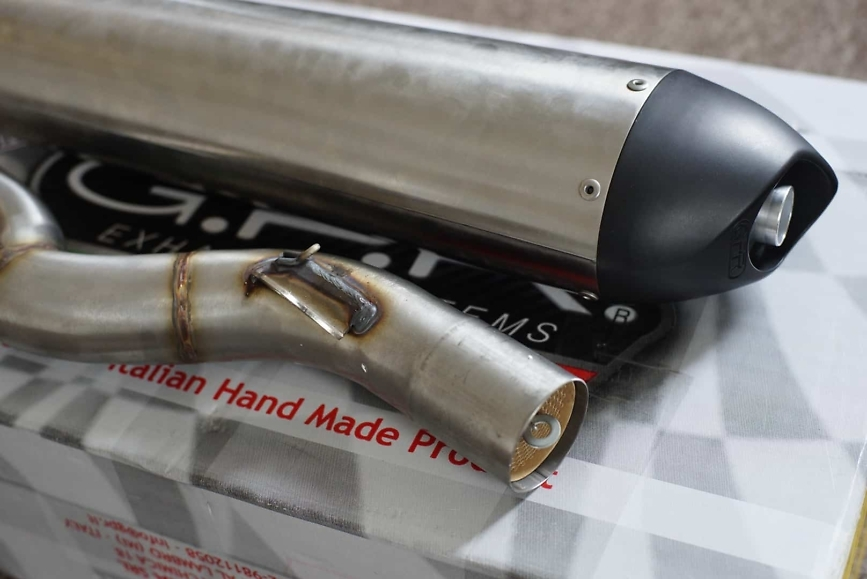 gpr 2-1 exhaust for 950 adventure with cat
