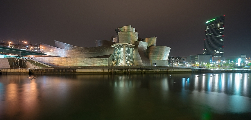 Guggenheim at night - Bilbao