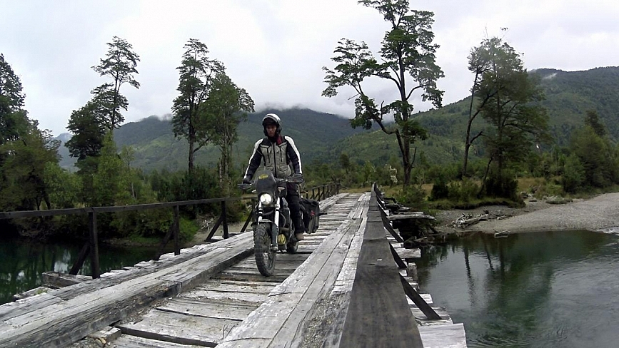 bridge-riding