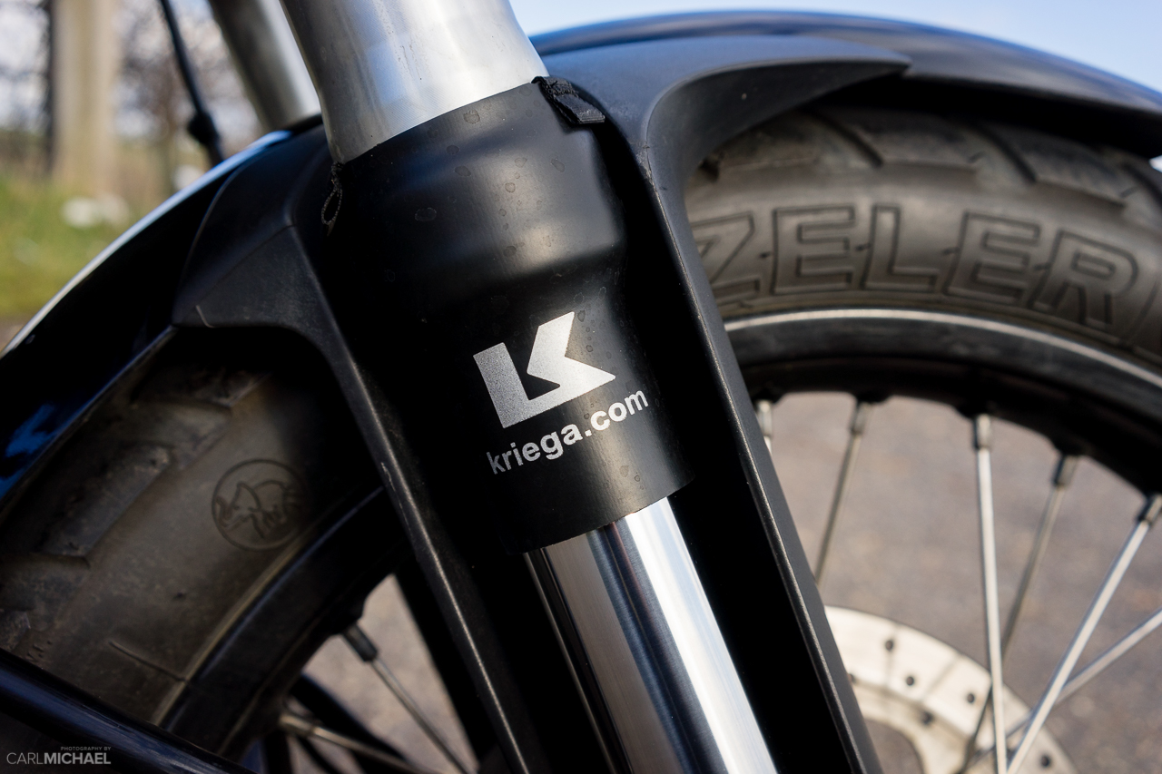 Kriega fork leg savers