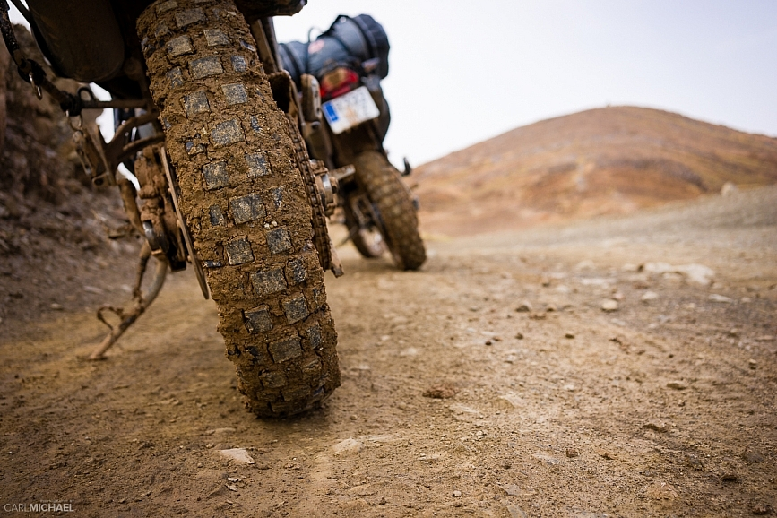 BMW G650 xCountry and BMW G650 Sertao on the piste in Morocco