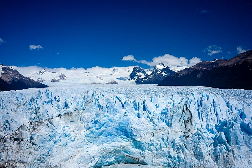 Perito Moreno Glacier head on